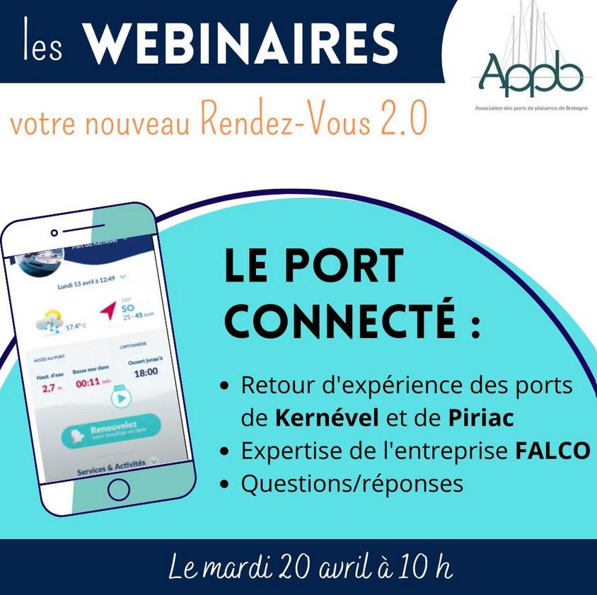 Webinaire APPB sur le port connecté