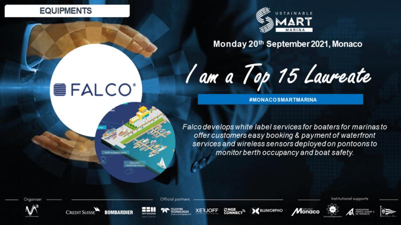 15 FINALISTS to Monaco Smart Marina FALCO